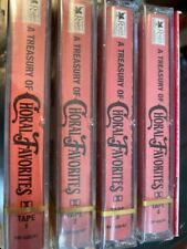 A Treasury of Choral Favorites~Readers Digest, 4-Cassette Set-Brand-New & Sealed