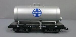 LGB 492562 G Scale ATSF Short Single Dome Tank Car #492562 EX