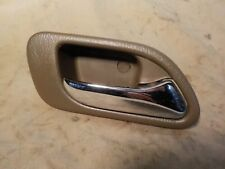 01-06 Acura MDX Tan Saddle passenger right rear interior door handle