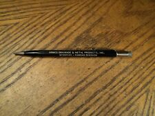 Vintage Autopoint Mechanical Pencil Advertising  Armco Drainage & Metal Products