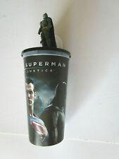 Batman v Superman Plastic Movie Theatre Cup With Lid Size 0.75 Litres
