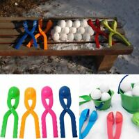 Snow Clay Ball Maker Sand Mold Tool Kids Toy Outdoor Snow Scoop Maker Clip