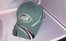 NY Jets NFL Ladies Rhinestone Embellished Reebok Baseball Hat/Cap