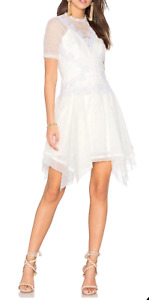 New Three Floors After Party Dress White Lace Dress Size 8-10