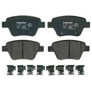 Disc Brake Pad Set-SST Rear Federated D1456C