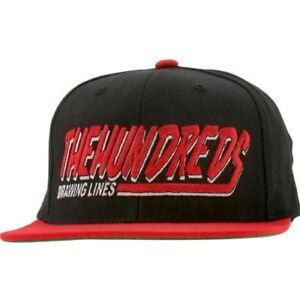 The Hundreds Swish Snapback Cap (black)