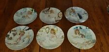 Complete Set of 6 Limited Edition Corinne Layton Small Blessings Plates