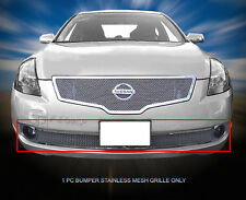 Stainless Steel Mesh Grille Grill Bumper For Nissan Altima Sedan 07-09
