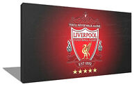 LIVERPOOL FC canvas wall art Wood Framed Ready to Hang XXL