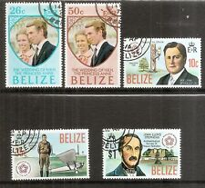 Belize - 1973 & 1976 Two different commemorative sets - Used