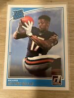 Mint 2018 Panini Donruss Rated Rookie RC #314 Anthony Miller Chicago Bears