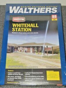 Walthers HO Scale Whitehall Station Kit NIB