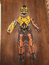 Transformers Revenge of the Fallen Bumblebee Boys 3-D Costume Size Medium (7/8)