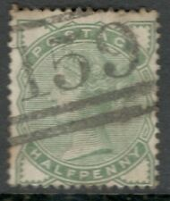 Queen Victoria - SG 165 - 1/2d Pale Green - Used - Glasgow Cancel