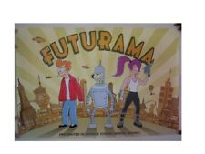 Futurama Poster Leela Bender Fry Bite My Shiny Metal