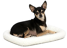 MidWest Deluxe Bolster Pet Bed for Dogs & Cats Fits 18 Inch Crates, New