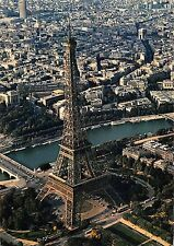 BR77252 paris la tour eiffel vue d avion france