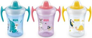 NUK Trainer Cup Soft Drinking Spout Leak-Proof 6+ Months BPA Free 230ml