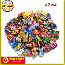 50 Mixed Pvc Shoecharm Lot Different Shoe Charms For Croc And Jibbitz Wristband