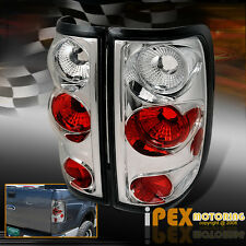 For 2004-2008 For F150 XL / XLT / STX / FX4 / King Ranch Chrome Euro Tail Light