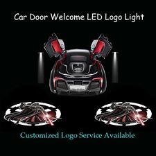 2x Darth Vader Logo Car Door Laser Projector Shadow CREE LED Light for Star Wars