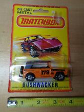Vintage Lesney Matchbox 1969 BUSHWACKER Field Car Truck Orange model #16 England