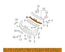 NISSAN OEM 05-07 Pathfinder Bumper Face-Foam Impact Absorber Bar 85092EA500