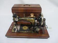 Antique Haid & Neu Minerva Hand Crank Sewing machine ca. 1915