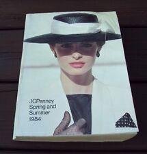 Vtg JC PENNEY CATALOG ~ SPRING and SUMMER 1984