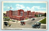 Bridgeport, CT - EARLY STREET SCENE OF REMINGTON ARMS & OLD CARS - POSTCARD