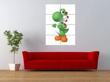 YOSHI SUPER MARIO VIDEO GAME DRAGON GIGANTE art print poster pannello nor0615
