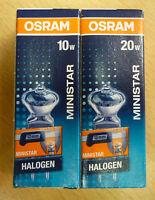 OSRAM Halogène MINISTAR Réflecteur AXIAL Lampe halogène réflecteur G4 10W 20W
