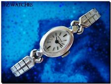 Stunning Vintage Ladies BENRUS Manual Wind, Coin Edges Bezel, 1 Year Warranty