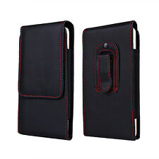 "Climbing PU Leather Bag Case For iPhone Samsung S8 Xiaomi 4.7 5.5 6.3"" Pockets"
