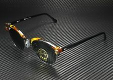 RAY BAN RB4246 1157 Clubround Spotted Black Havana Green 51 mm Unisex Sunglasses