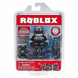 ROBLOX DuelDroid 5000 Figure & Accessories + Exclusive Virtual Item Code