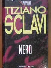 Romanzo Thriller NERO Tiziano Sclavi Fabbri La Biblioteca del Brivido Dylan Dog