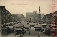 AK Freiberg i. Sa., Wochenmarkt am Obermarkt, 1926, 06/04