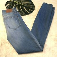 """Madewell 9"""" High Rise Skinny Skinny Distressed Jeans Size 25"""