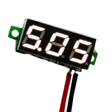 Mini DC 2.4-30V LED Panel Voltage Meter 3-Digital Display Voltmeter Motorcycle `