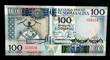 ★★ SOMALIE ● RADAR VARIETE ● BILLET DE 100 SHILLINGS 1989 ● SPL A NEUF / UNC ★★