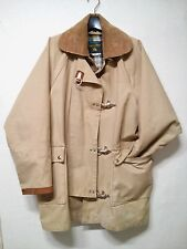VTG I.Spiewak Golden Fleece Canvas Fireman's Turnout Bunker Coat vintage USA M