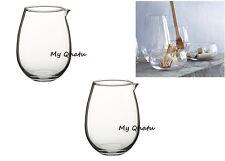 2 x IKEA VIKTIGT GLASS JUG 11 Oz - Brand New Lot of 2
