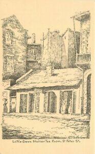 Castleden's pen ink Sketches New Orleans Louisiana 196  Postcard 20-10678