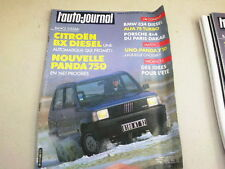"""REVUE  """" L' AUTO JOURNAL """" N° 6   ANNEE  1986  *"""