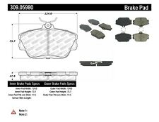 Disc Brake Pad Set-Rear Disc Front Stoptech 309.05980