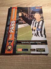 Dunfermline v Dundee 2002/03