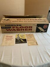 Vtg New In Box Hoover 1950's Electric Floor Washer Model 3500