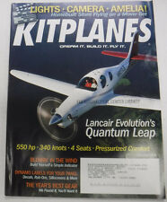 Kitplanes Magazine Lancair Evolution's Quantum Leap November 2008 072215R