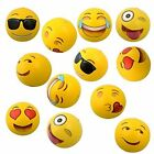 Set of 12~ Emoji Face Beach Ball Inflatable Round for Water Play Pool & Kids 12